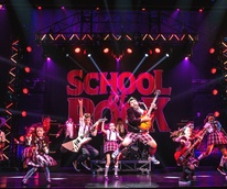 School of Rock cast jumping