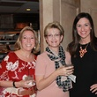 Zilah Miller, from left, Debra Neighbors and Leah Hanson at the Friends of St. Jude Spring Happy Hour March 2015
