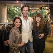 Austin Fashion Week kick off party at estilo 2013 Kara Champagne, Chris Null and Christine Gwillim