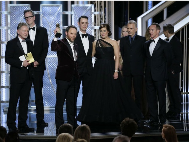 Cast of Fargo at 2015 Golden Globe Awards