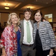 201 Bonnie Weekley, from left, Stuart Nelson and Mary Katharine Roff at the Hope and Healing Center luncheon May 2014