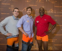 Cancer Below the Belt fundraiser, Corey Scott, Landon Wasem, Ernest Evans