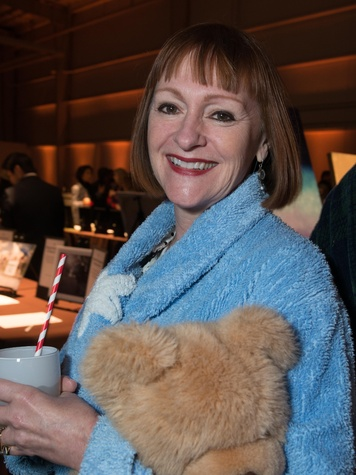 Valerie Greiner at the Hope Stone Gala March 2014