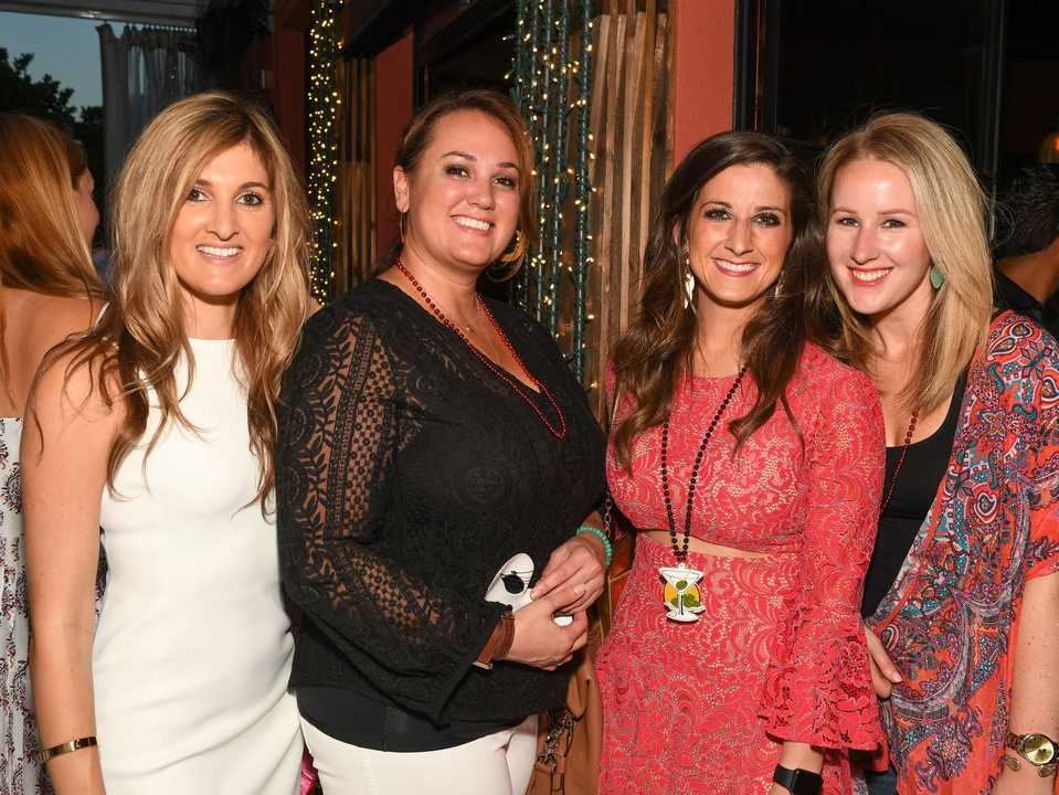 Houston, B&B Butchers & Restaurant Partini with Amschwand Sarcoma Cancer, June 2017, CJ Yanofsky, Amy Palcic, Lauren Smith, Emily Bruss