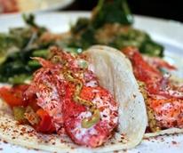 Jonathan's the Rub lobster taco
