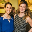 14 Kate Horton, left, and Leslie Fowler at the CultureMap Social at La Colombe d'Or February 2014