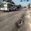 Montrose District, potholes