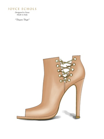 Joyce Echols shoes June 2014 Thorn That_ from lookbook