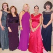 Cynthia Beaird, Sharon Popham, Dixie Marshall, Marena Gault, Venise Stuart, Sharon Ballew, DSOL Presentation Ball