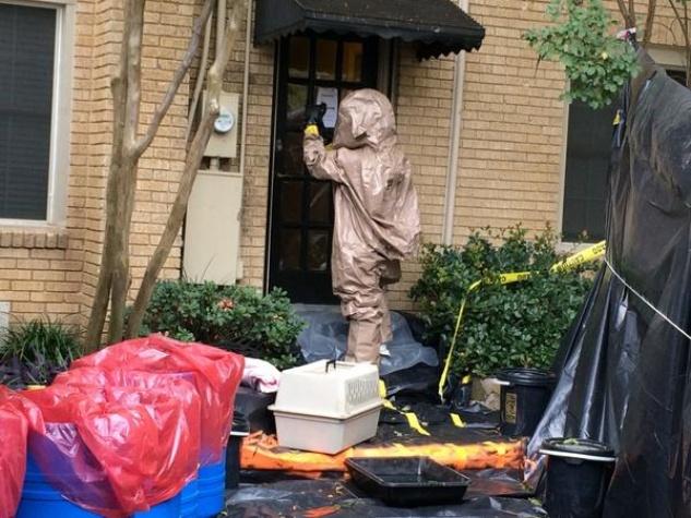 Ebola apartment decontaminated in Dallas
