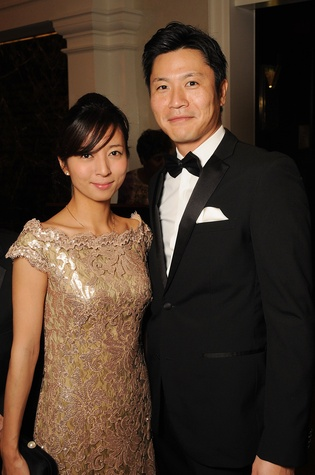 17 Sachi and Tomo Takeda at the Petroleum Club of Houston Grand Opening Celebration February 2015