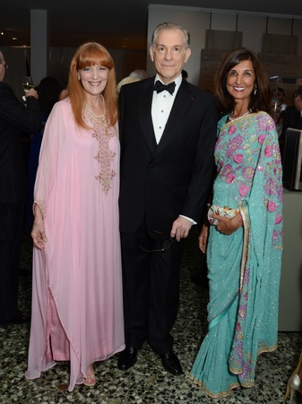 23, Islamic World gala, January 2013, Gracie Cavnar, Gary Tinterow, Sultana Mangalji