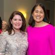 Christine Napier, Grace Kim at Memorial Hermann Razzle Dazzle luncheon