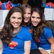 Chester Pitts bowling event Monica Blaisdell, Rebekah Hartland, Joanna Marks