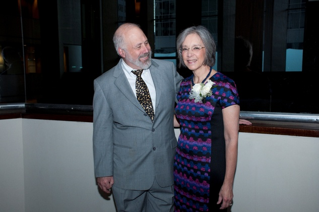 16 Rob Sufit and Diane P. Wood at the Spring Branch Education Foundation Gala October 2014