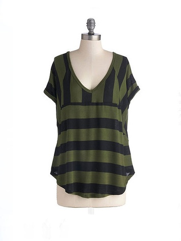 modcloth Best of the Pesto Top