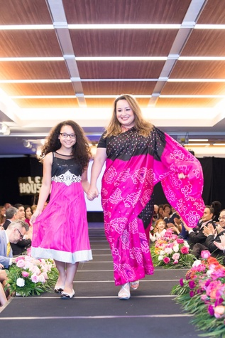 International Mother's Day Soiree May 2015 Honoree Ann Marie Carrizales with daughter