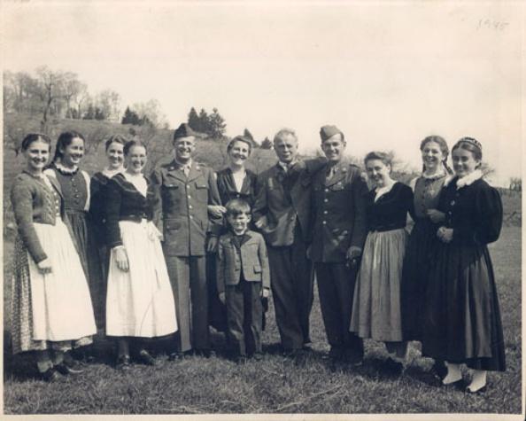 Original Von Trapp family singers