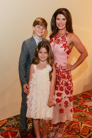 Best Dressed Luncheon, March 2016, Laura Davenport, son Rhett, daughter Lucy