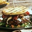 Brick House goat burger