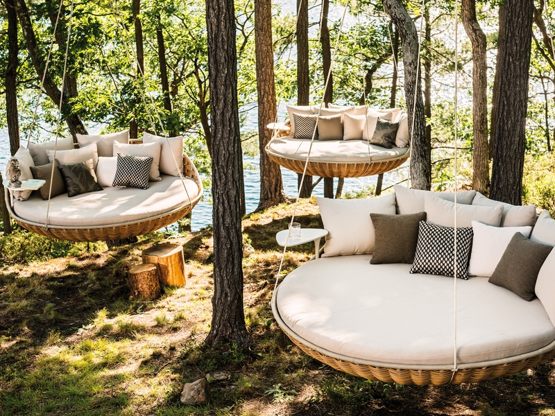 Outdoor Furniture Dedon Swingrest At Kuhl Linscomb