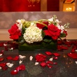 2762 Floral arrangement by Lexis Florist at the Crimson grand opening party July 2014
