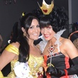 Amanda Morena, left, and Tiffany Halik at the Brasserie 19 Halloween party October 2014