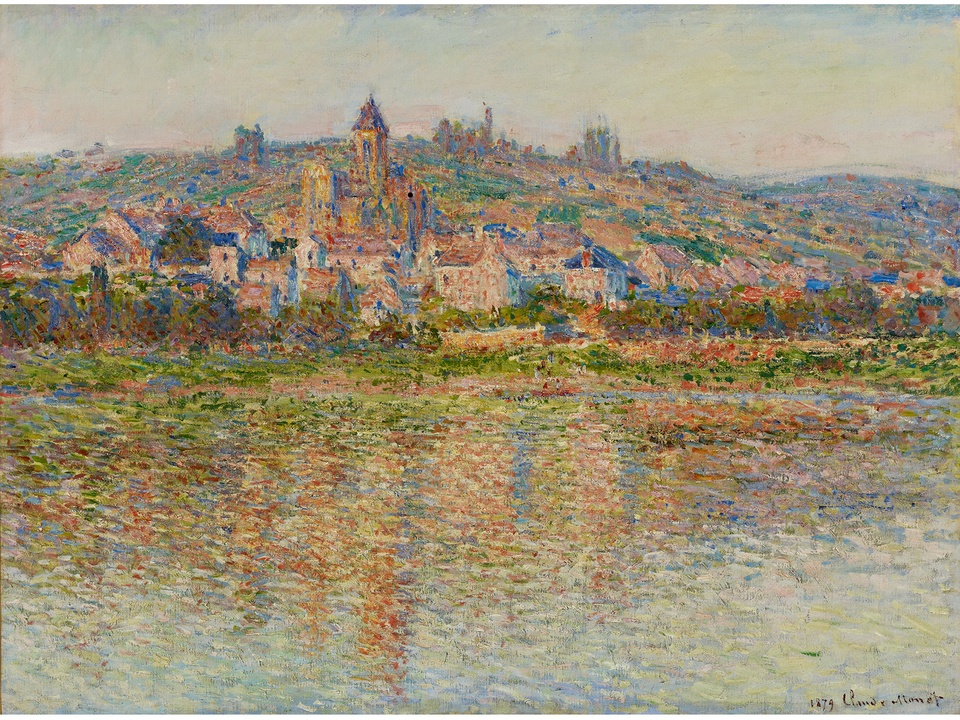 MFAH Monet and the Seine Impressions of a River October 2014 Claude Monet - Vétheuil in Summer