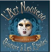 """Museum of Cultural Arts Houston's """"L'Art Nouveau Masquerade Ball - Peinture a Les Etoiles"""""""