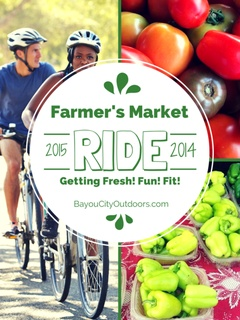 Bayou City Outdoors Farmer's Market Ride