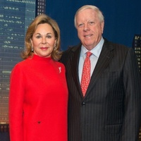 Nancy and Rich Kinder at MD Anderson Legends dinner