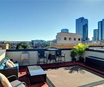 Fort Worth home, 644 East Bluff Street, patio