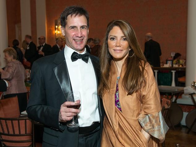 17 Leo Espino and Lydia Protopapas at the Inprint Ball February 2015