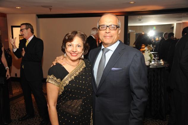 Houston Arts Alliance dinner 5/16, Dr. Fatima Jawjim Amin Mawji