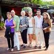 Harl Asaff, Jim Asaff, Diane Eichenbaum, Jessica Asaff, James Harl Asaff, Dedie Leahy Turner, 2013 Dallas Spring Party