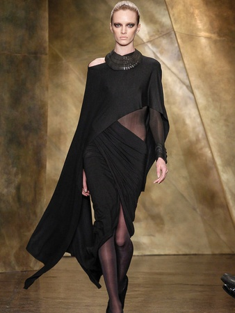 Fashion Week fall 2013, February 2013, Donna Karan, Look 1