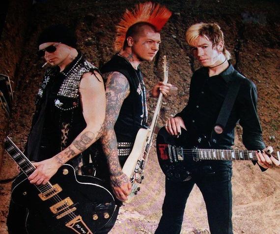 Rancid punk rock band