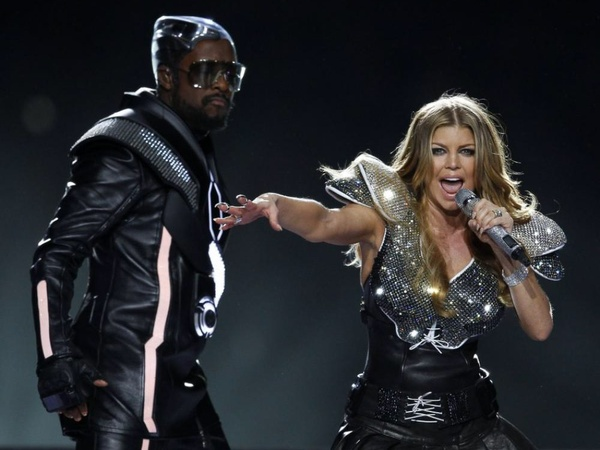 Fergie, Black Eyed Peas, half-time