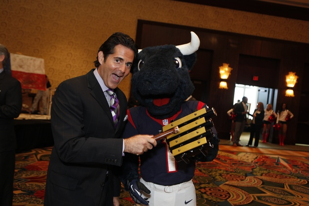 News, Shelby, Souperbowl of Caring luncheon, Michael Garfield, Toro,,Sept. 2014