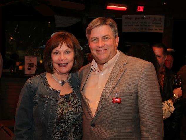 Mary Spencer, SPCA of Texas President and CEO James Bias, SPCA Paws for Cause