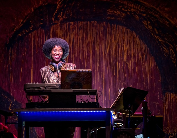 "Alley Theatre's Syncing Ink, Robyn ""DJ Reborn"" Rodgers"