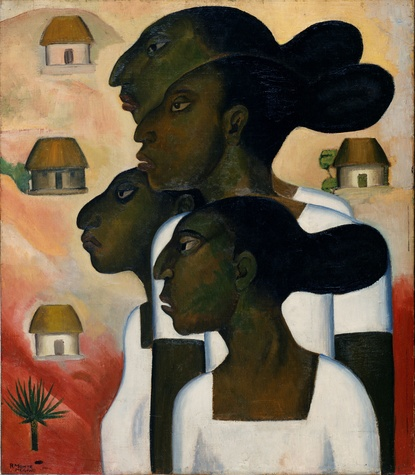 Paint the Revolution: Mexican Modernism, 1910–1950: Roberto Montenegro, Maya Women, 1926