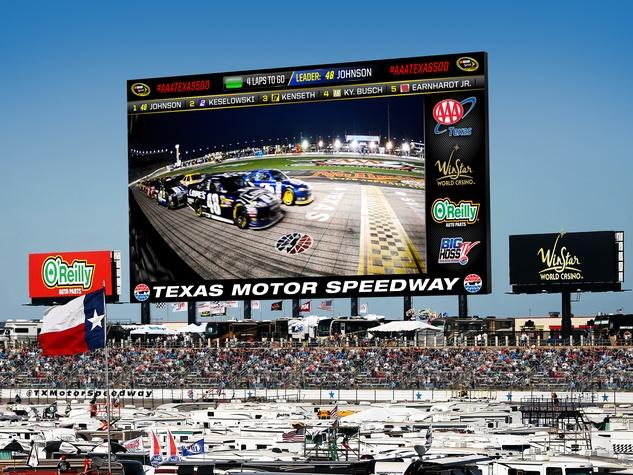Big Hoss at Texas Motor Speedway