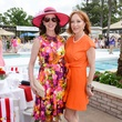 18 Phoebe Tudor, left, and Martha Finger at the River Oaks Tennis Tournament luncheon April 2015