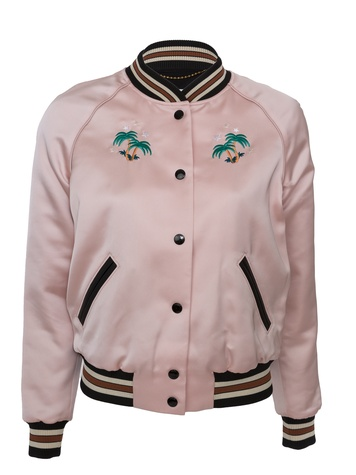 Coach 1941 varsity jacket in The Webster Lane Crawford collaboration