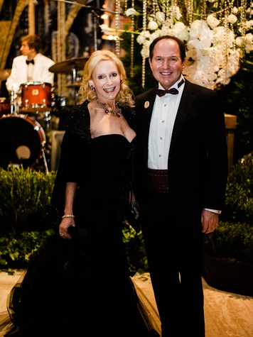 Anne Davidson, Mark Porter at Crystal Charity Ball 2013