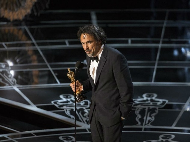 Alejandro Gonzalez Inarritu at the 2015 Academy Awards