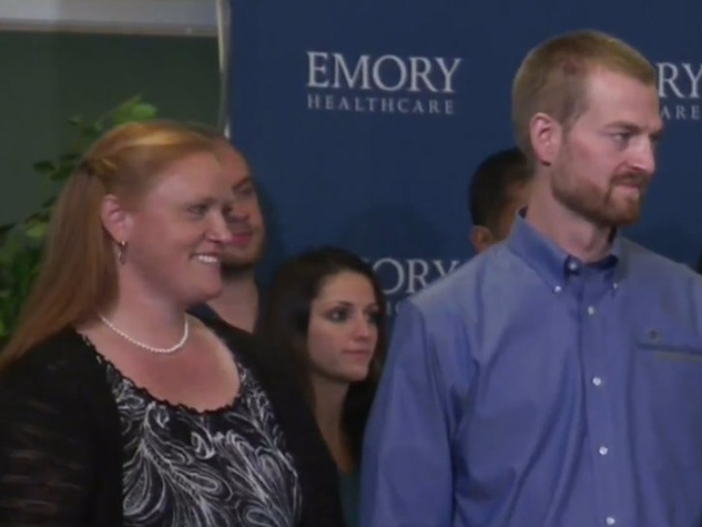 Amber and Dr. Kent Brantly