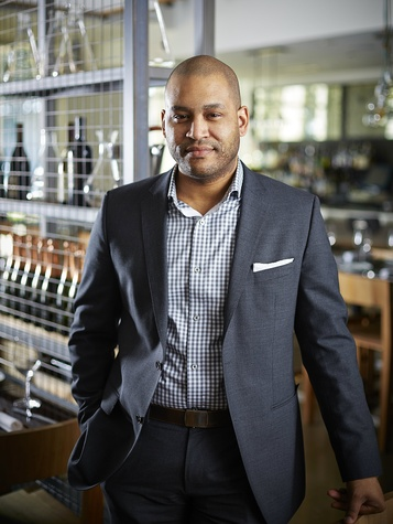 Sommelier Jeff Gregory of FT33 restaurant in Dallas