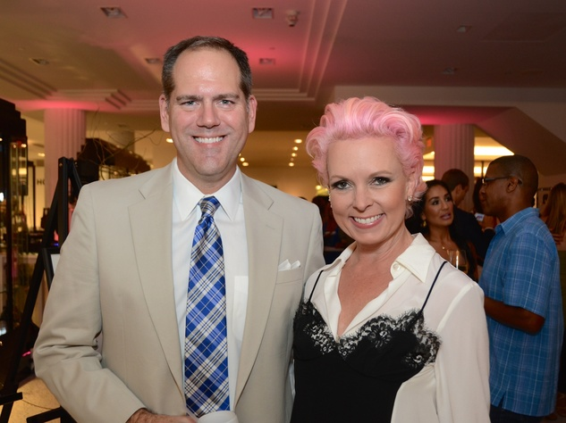 11 Jeff Gremillion and Vivian Wise at Fresh Faces of Fashion event at Tootsies September 2014